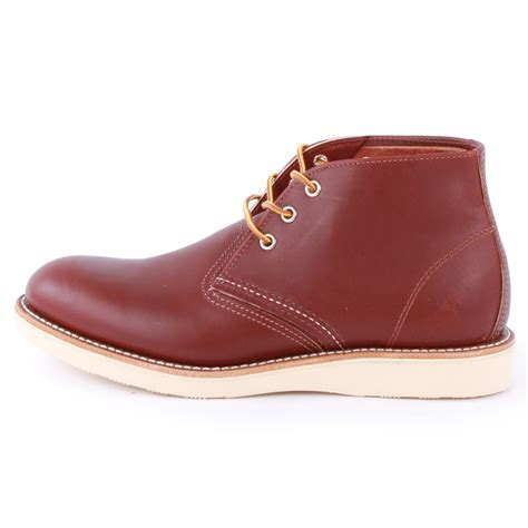 wing chukka boots wing 3139 mens chukka boots leather new shoes