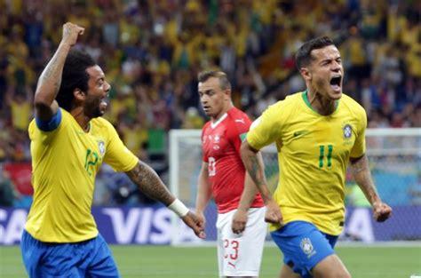 brasile svizzera 1 0 highlights coutinho gol