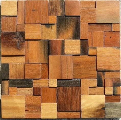 wood panel backsplash wood mosaic tile rustic wood wall tiles backsplash