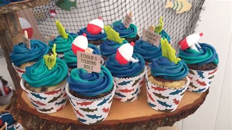 fishing themed boat names kara s party ideas colorful gone fishing birthday party