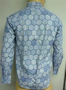 hexagon pattern light blue shirt joker hexagon shirt beehive costume halloween tdk ebay