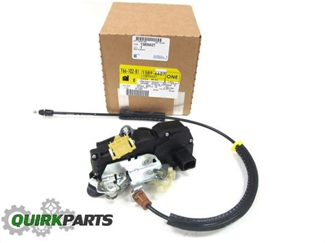 2008 tahoe right rear door lock actuator 07 08 suburban avalanche tahoe yukon right rear door lock