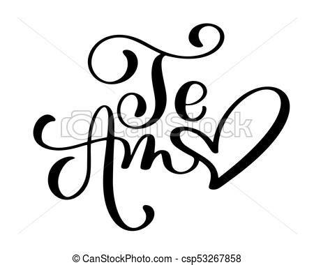 imagenes de i love you en cursiva letras caligraf 237 a amor card amo aviador texto