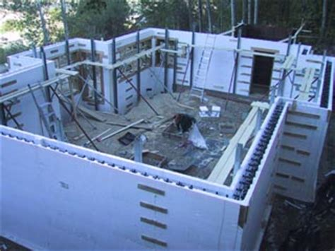 concrete wall house plans insulated concrete forms house building blog