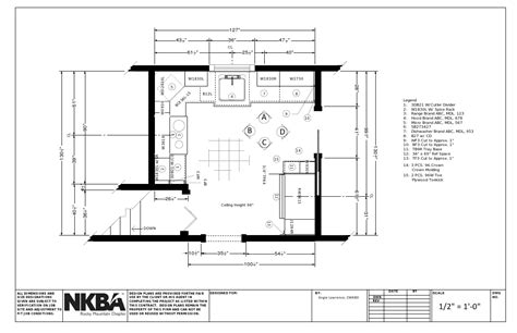 kitchen layout guidelines and requirements nkba graphic standards kitchen set