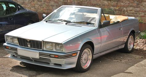 maserati biturbo custom file maserati biturbo spider jpg wikimedia commons