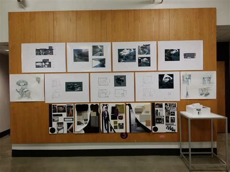 cida accreditation review student projects on display at