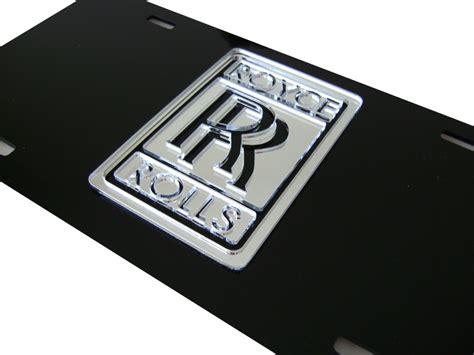 rolls royce laser cut front license plate ebay