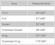 king size duvet measurements comforter sizing guidelines to choose or not to choose