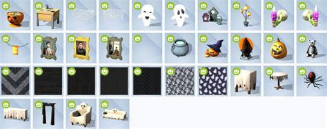sims 4 kinderzimmer accessoires inhalt the sims 4 spooky stuff objects