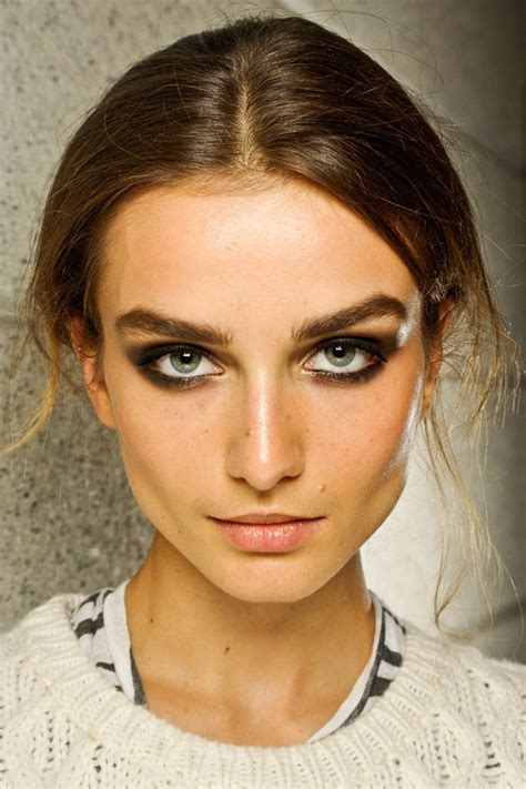 Makeup Versace grunge ombre the ss13 killer look patsy nearkhou
