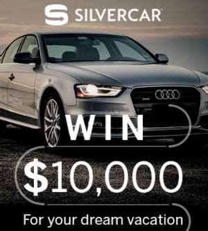 Dream Vacation Sweepstakes - silvercar s summer dream vacation sweepstakes giveaway gorilla