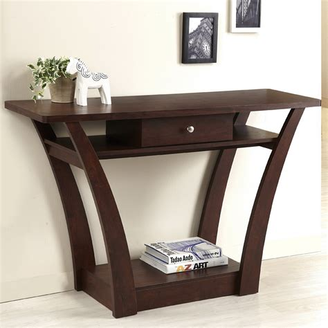 thin table behind couch small console table this free form console is a smaller