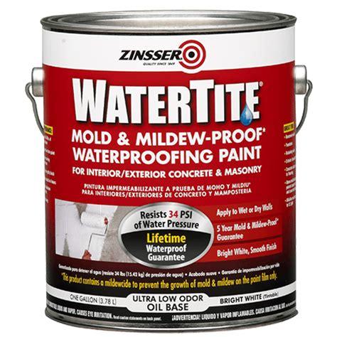 zinsser paint colors zinsser 174 watertite 174 mold mildew proof waterproofing