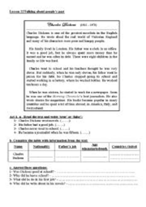 charles dickens biography video worksheet english worksheets charles dickens