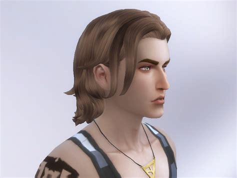 long hairstyles for men sims 4 tatyananame long wavy swept retexture