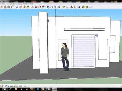 membuat rumah dengan sketchup cara membuat rumah dengan menggunakan material di sketchup