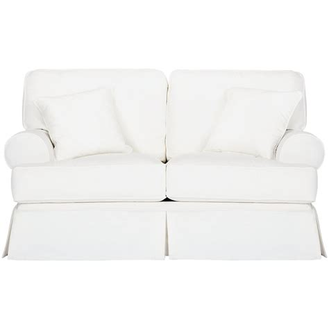 white fabric loveseat city furniture harris white fabric loveseat