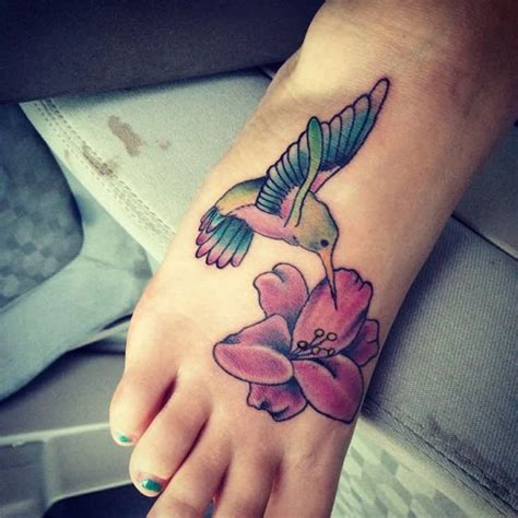 Hummingbird Tattoo Images Designs Hummingbird Tattoos On Ankle