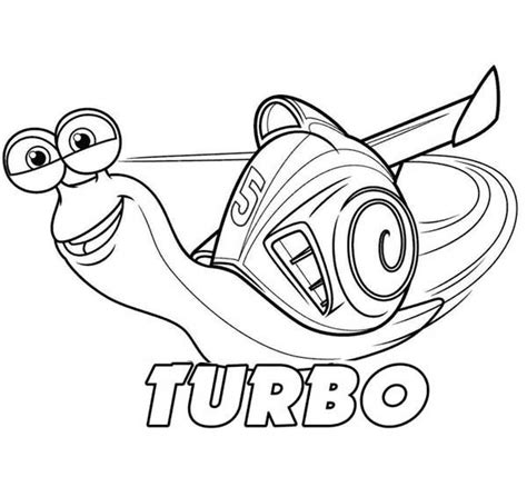 printable turbo coloring page turbo the snail coloring pages coloring pages