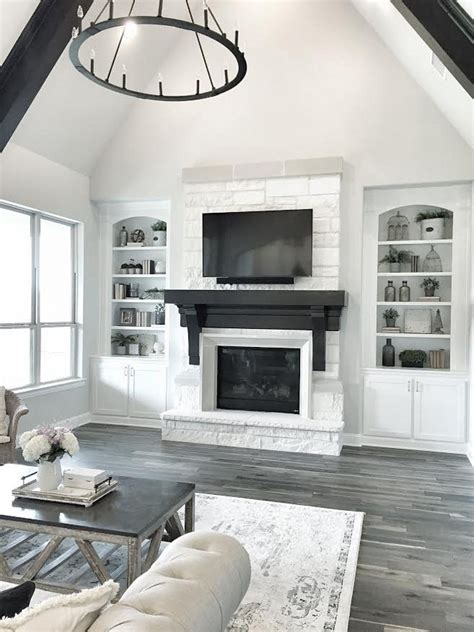 living room design with stone fireplace beautiful homes of instagram home bunch interior design
