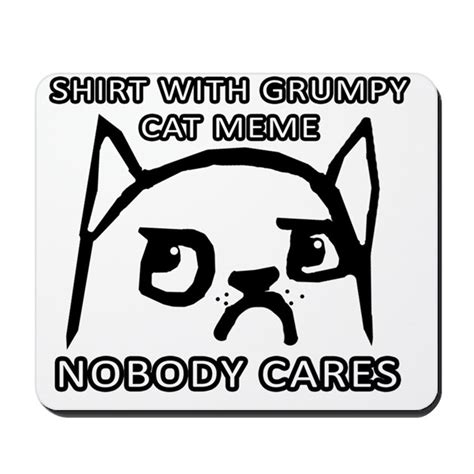 Meme Mouse Pad - grumpy cat meme original mousepad by admin cp68006468