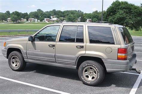 1996 Jeep Grand Laredo Find Used 1996 Jeep Grand Laredo In Lutherville