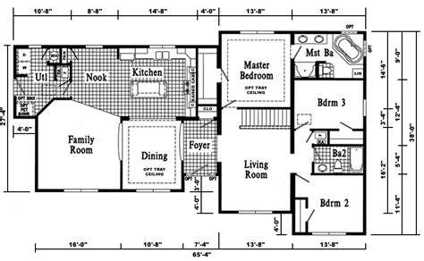 floor plan for a house berwick t ranch style modular home pennwest homes model