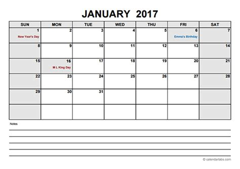 blank calendar template pdf 2017 blank calendar pdf free printable templates
