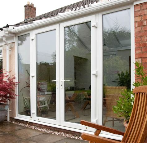 Upvc French Door Doncaster Yorkshire External Pvc Makeover French Door Screens