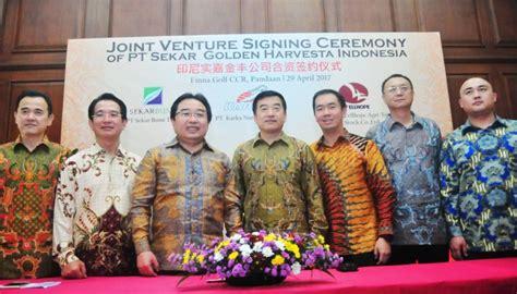 Pakan Udang Karka sekar bumi gandeng perusahaan china produksi hasil laut
