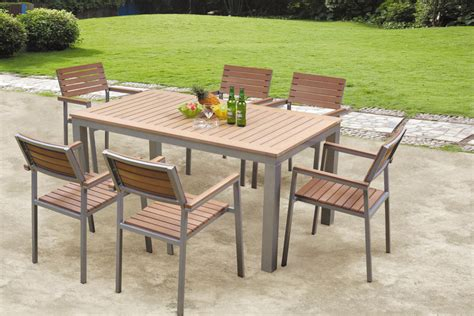 wood patio furniture artsmerized polywood patio furniture