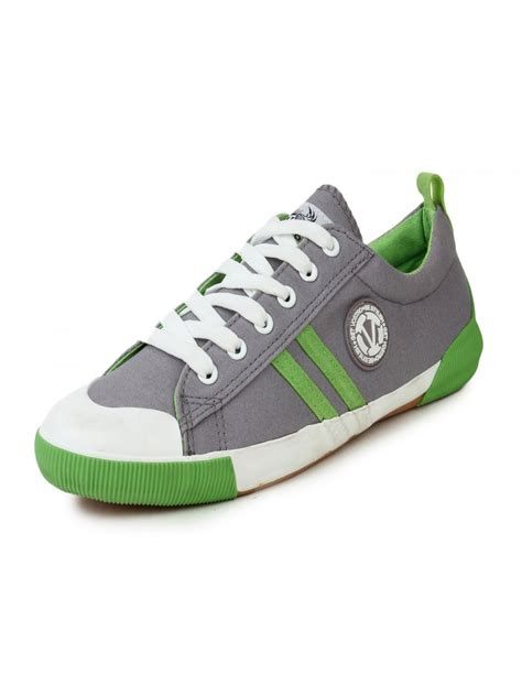Casual Shoes Mae Bordy Grey vostro light grey green casual shoes for vcs0125