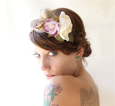 hairstyles with a headband fascinator 47 best fascinator bibi headband wedding images on