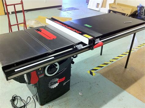 saw stop table saw sawstop pcs175 pfa30 review cabinet table saw