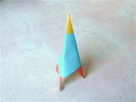 Paper Folding Rocket - joost langeveld origami page