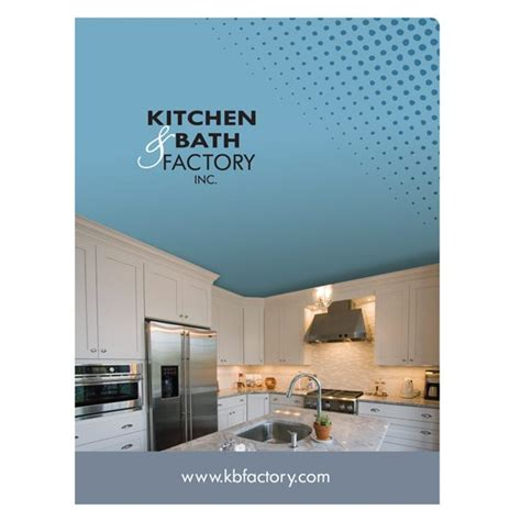 bathroom and kitchen factory shop folder design folders with company logo for kitchen