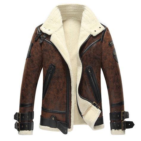 Vintage Jacket Bomber Jaket vintage sheepskin b 3 bomber jacket cw861275