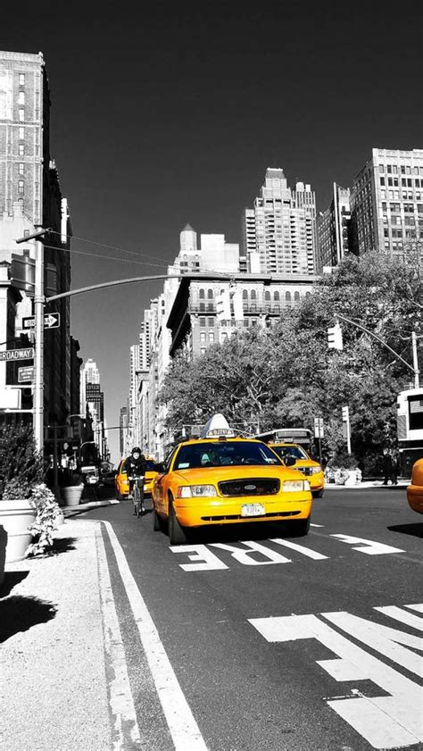 Lookup New York New York Taxi The Iphone Wallpapers