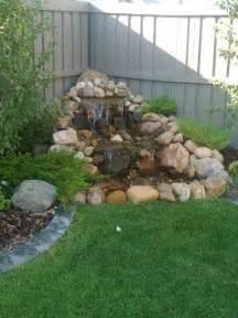 backyard fountains and waterfalls 25 best ideas about garden waterfall on rock