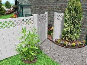 Fencing Ideas For Small Gardens Garden Fence Ideas Design Living Interior Design Photos