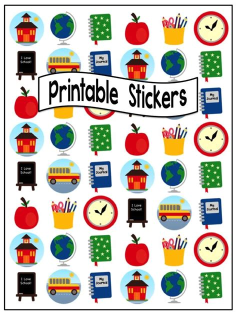 printable stickers round 68 best printable stickers images on pinterest printable