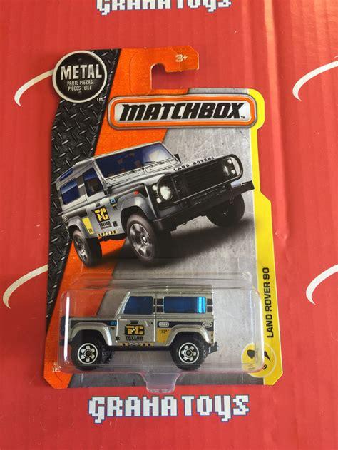 matchbox land rover 90 land rover 90 48 2017 matchbox case f grana toys