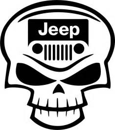 Jeep Skull Sticker Jeep Club Skull Road Rock Climbing Car Truck Window