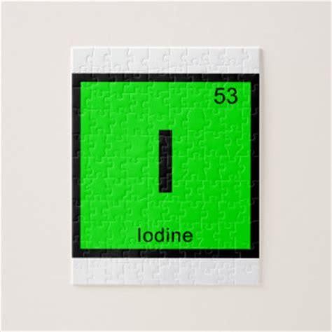 Iodine Periodic Table by I Iodine Chemistry Periodic Table Symbol Puzzle