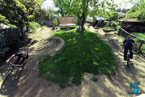backyard pumptrack backyard spotlight izaak s pumptrack