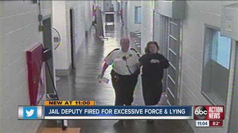 Pinellas County Inmate Records Pinellas County Deputy Fired For Slapping Inmate And