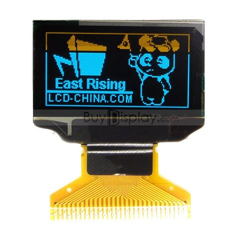 Oled Module 2 Colors White And Blue monochrome 0 96 quot 128x64 oled display module ssd1306 blue
