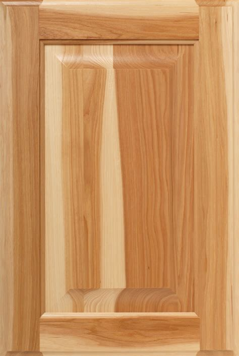 calico mix grade hickory wood  cabinet doors