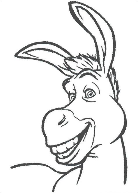 coloring pages of donkey from shrek shrek coloring pages coloring kids